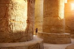 Karnak Temple (Hypostyle Hall), Karnak, Egypt