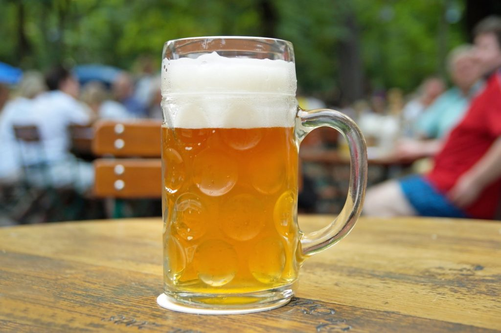 German Stein in Munich
