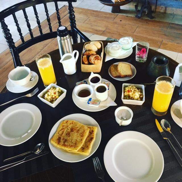 Msemen for breakfast in morocco